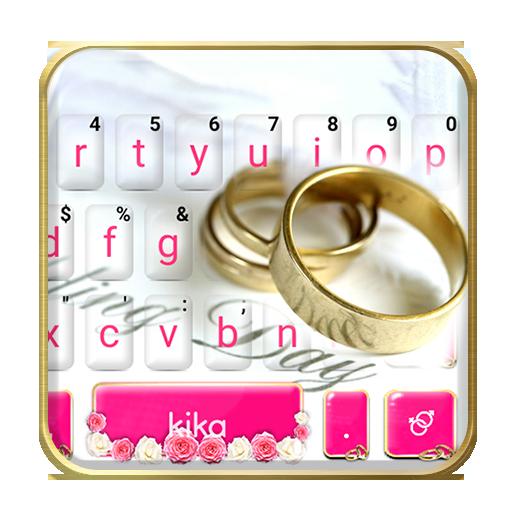 Sweet Wedding Dream Keyboard Theme Icon