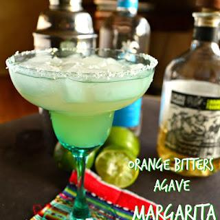 Orange Bitters Agave Margarita.