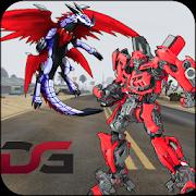 Dragon Robot Transforming Battle Robot Warrior