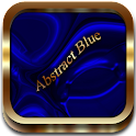 Abstract Blue Go Launcher icon