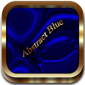 Abstract Blue Go Launcher