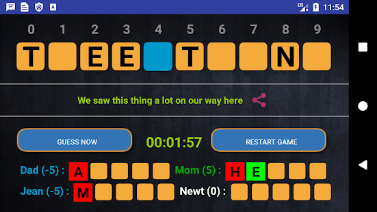 WordWe - Cool Family Words Game - náhled