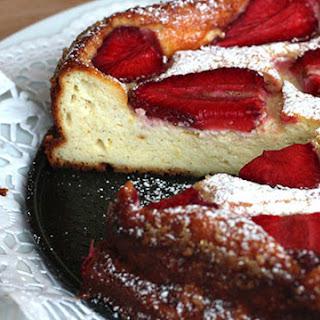 Strawberry Ricotta Cake.
