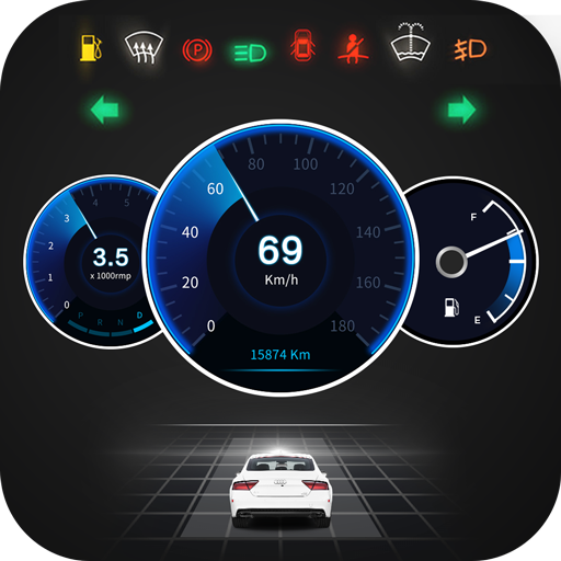 GPS Speedometer OBD2 Car dashboard: Speed limit - Apps on