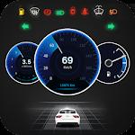 GPS Speedometer OBD2 Car dashboard: Speed limit 1.7