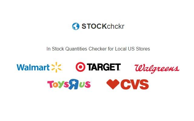 stockchckr how many units on the shelf chrome web store