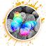 カラースプラッシュ効果 - グラフィックデザイン