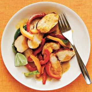 Curried Chicken Sauté