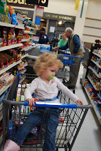 Photo: It's time for checkout, she's not so happy anymore!