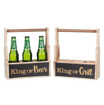 Dryckeshållare King of Beer