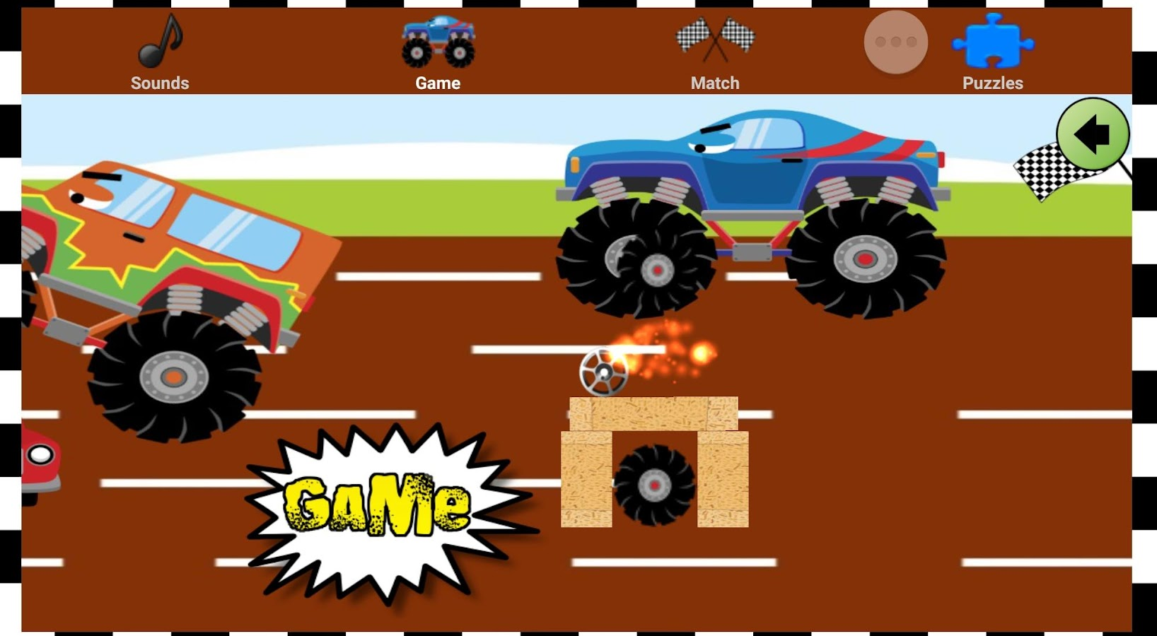 ... Screenshots of Monster Truck Games Easy Kids for iPhone ...