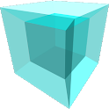 Tesseract: a 4D game icon