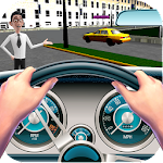Taxi Simulator Parking Games icon