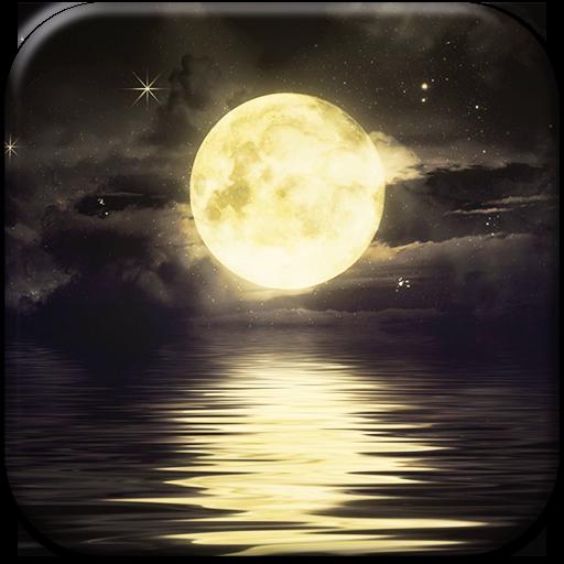 月亮动态壁纸 個人化 App LOGO-APP開箱王