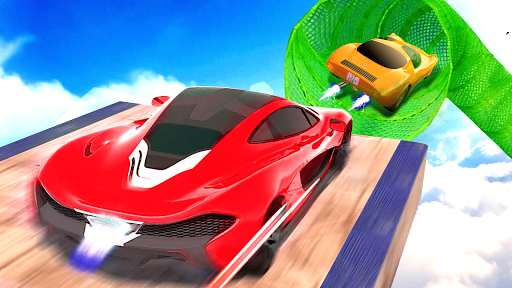 Impossible Track Car Driving Games: Ramp Car Stunt apkmr screenshots 10