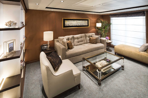 koningsdam-Pinnacle-Suite-Living-CatPS.jpg - The spacious living room of a Pinnacle Suite on Holland America's Koningsdam.