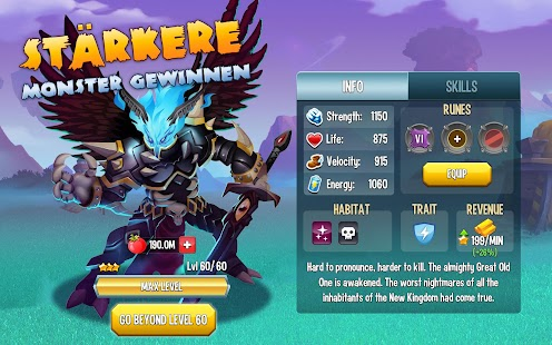 Monster Legends - RPG – Miniaturansicht des Screenshots