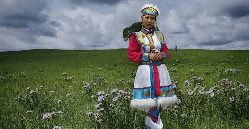 Mongolie raid moto