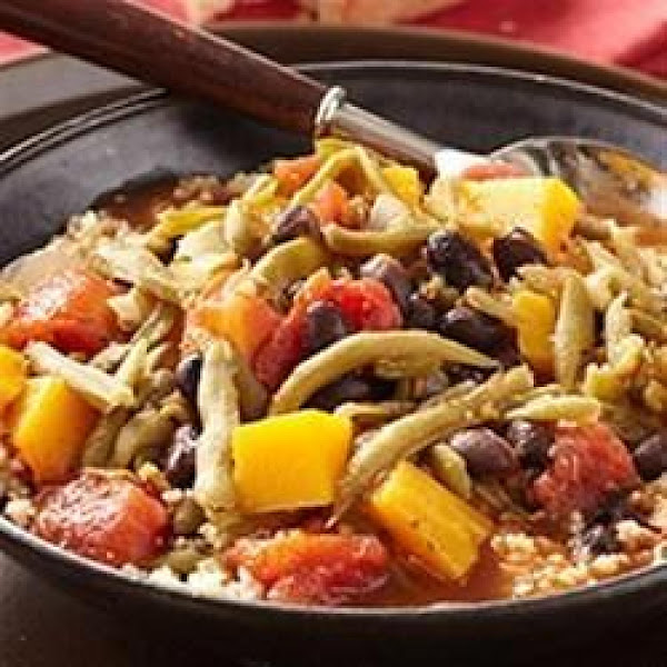Butternut Squash And Black Bean Stew With Tomatoes Recipe