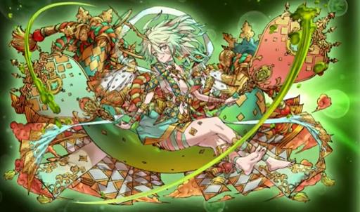 極醒の翠角姫・風神