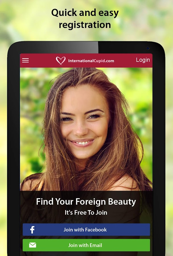 Overseas dating app