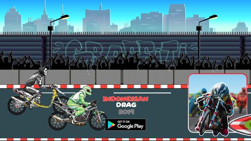 Indonesian Drag Bike : Street Racing apktram screenshots 4