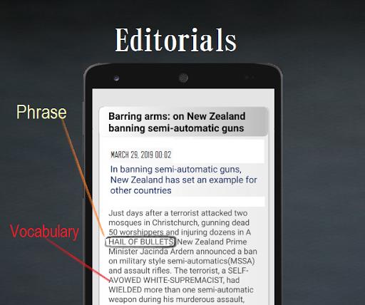 Hindu Vocab App: Daily Editorial & Vocabulary hindu.25july screenshots 3