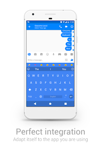 Chrooma GIF Keyboard– miniatura da captura de ecrã