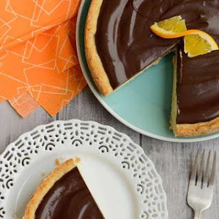 Orange Ricotta Tart with Chocolate Ganache Recipe