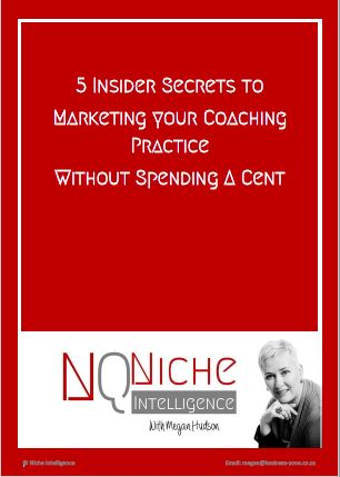 5 insider secrets to marketing your coaching practice