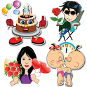 Birthday Stickers For Whatsapp icon