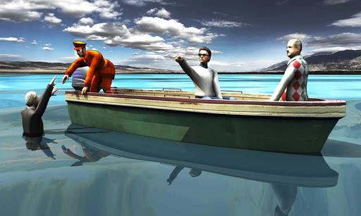 緊急警察ボートレスキュー