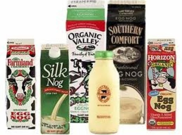 Refrigerated eggnog tastes best:We prefer the refrigerated eggnog that comes in a carton versus...