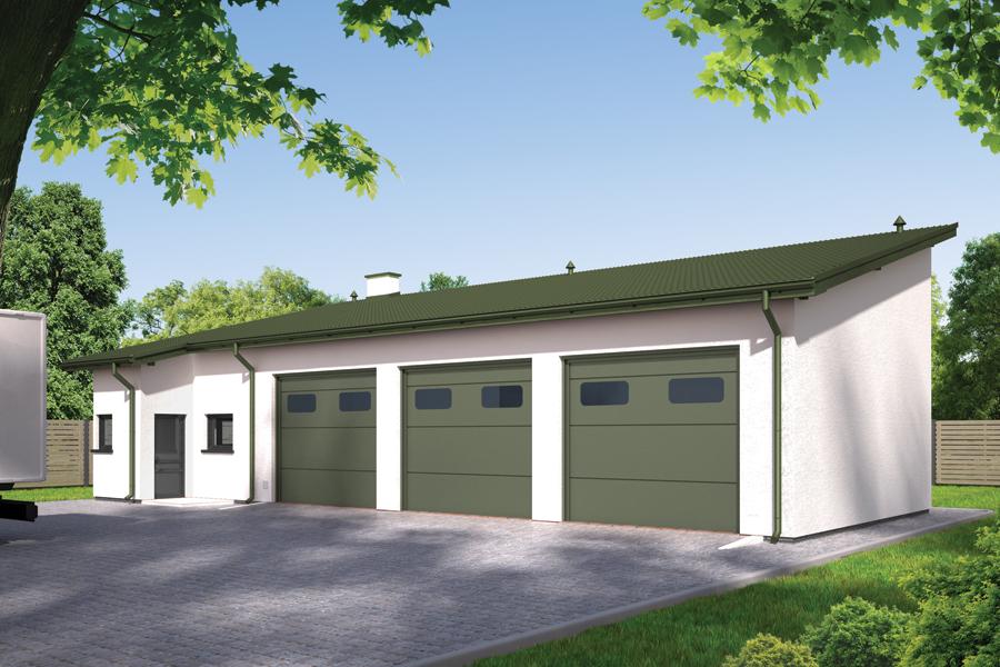 Projekty Budynków Handlowo Usługowych Warsztaty Samochodowe Toobapl