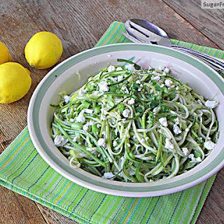 Fresh Zucchini Salad with Lemon Vinaigrette