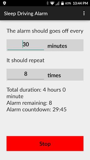 Sleep Driving Alarm