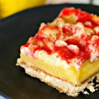 Strawberry Lemonade Cheesecake Bars