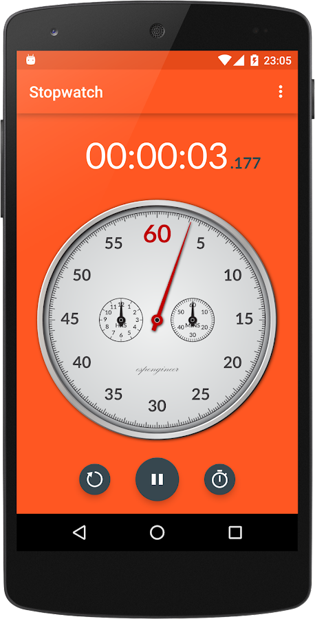 Chronometer- screenshot