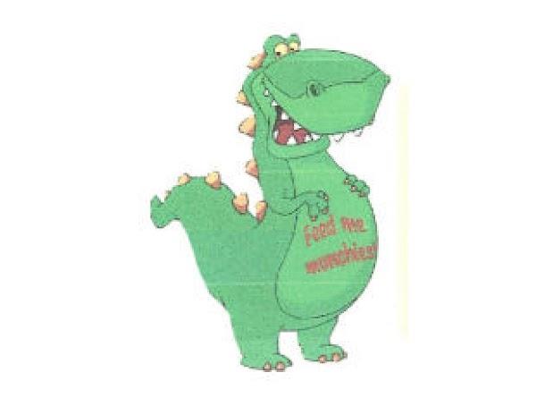 Dinosaur Munchies Recipe