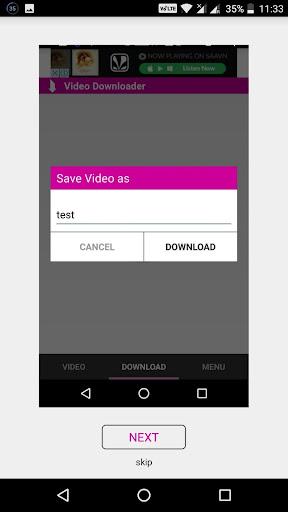 AA HD Video Downloader 1.5 screenshots 7
