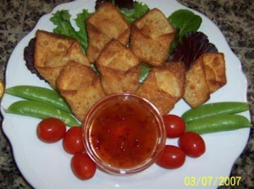 Simply Scrumptious Crab Wontons Recipe