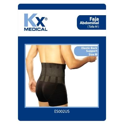 faja kx abdominal talla m Producto elaborado con poliéster. ¡Conoce la amplia línea de productos en soporte terapéutico que KX Medical trae para ti!