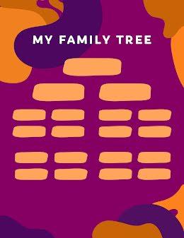 Wavy Family Tree - Family Tree item