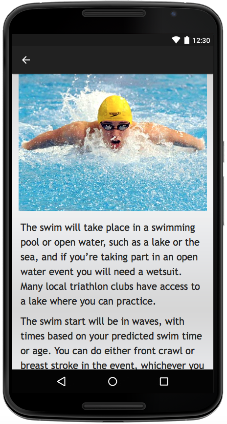 Triathlon- screenshot