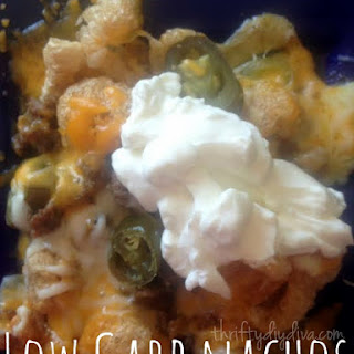Low Carb Pork Rind Nachos (Atkins Friendly Recipe!)