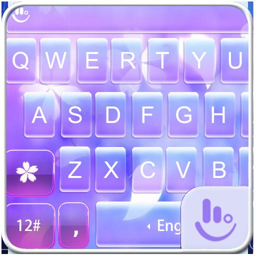 Soft Flower Keyboard Theme 生活 App LOGO-硬是要APP