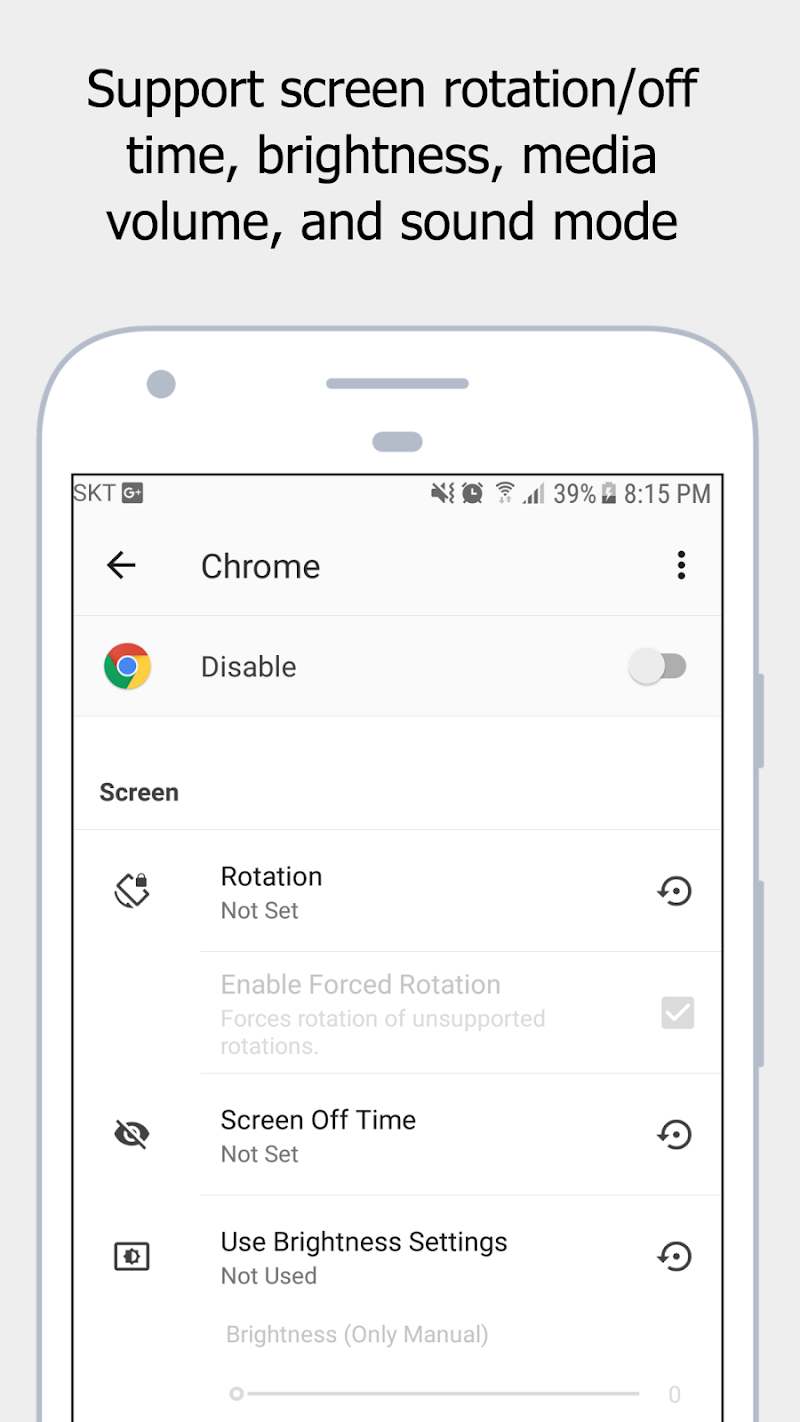 Autoset - Android Automation Device Settings Screenshot 2