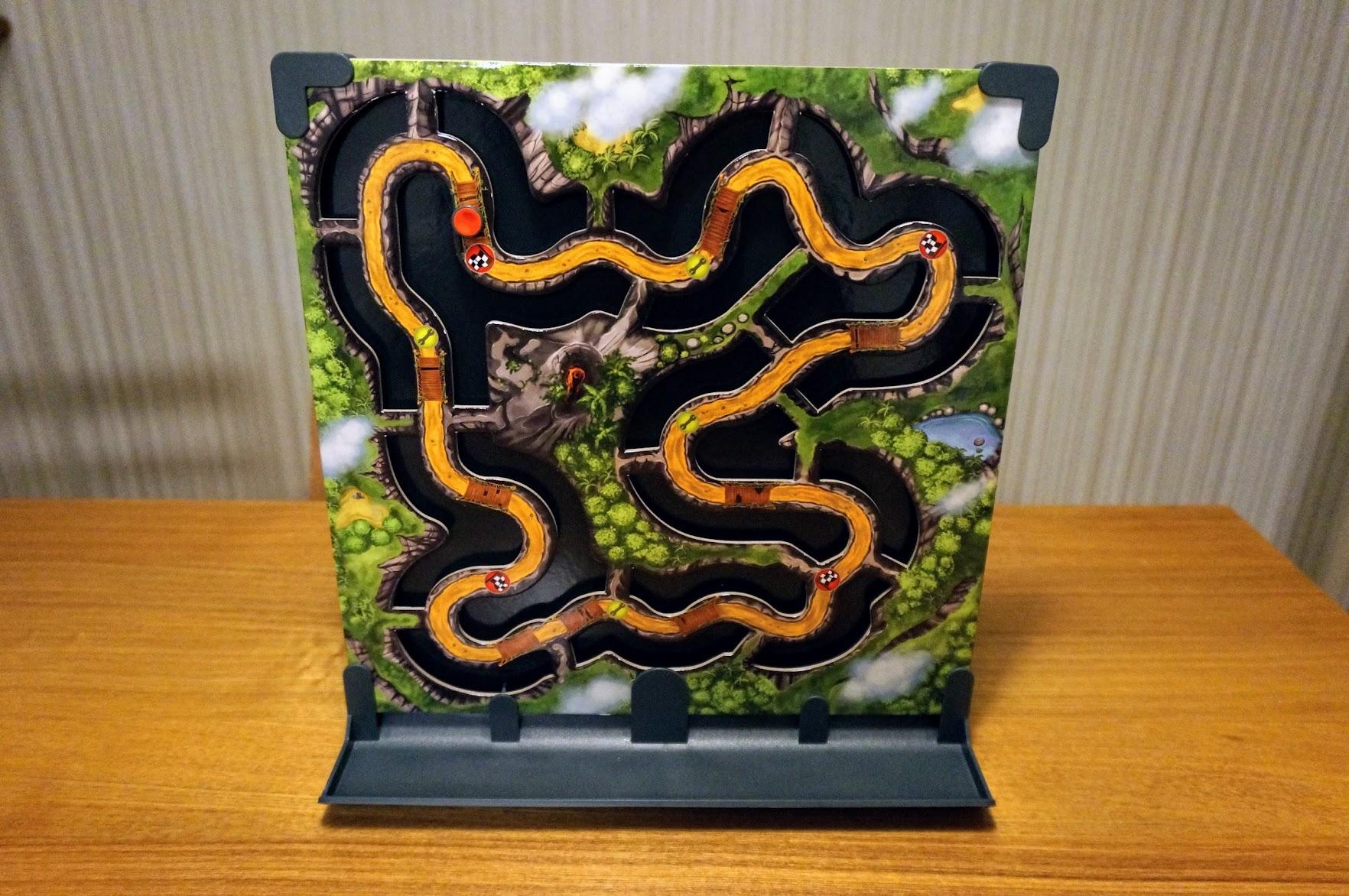 ゲーム紹介『トイバー親子のまぐまぐ (Mag-O-Mag)』:ジャングル・レース