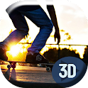 Cool Skate Edit Live Wallpaper icon
