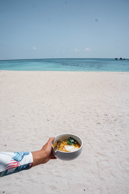 Indomie with view